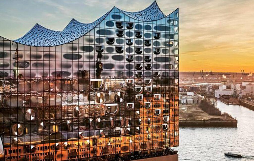 Rejser med Koncertrejsen; Elbphilharmonien i Hamborg