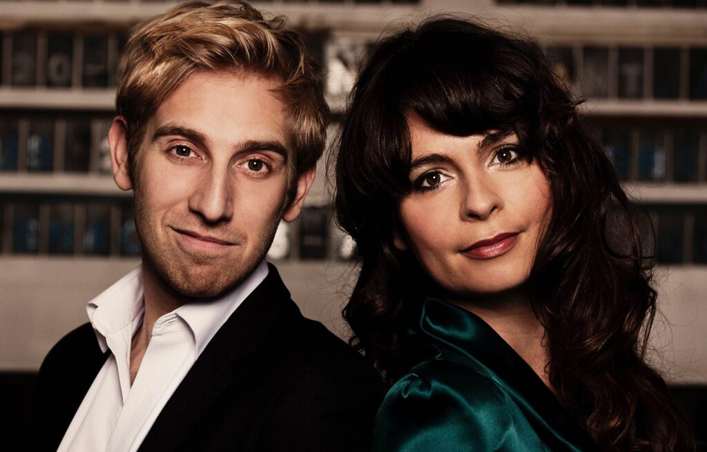 Koncertrejsens gæster Andrea Pellegrini og Bjarke Mogensen