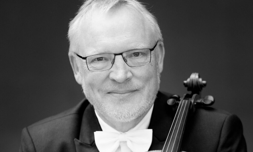 Koncertrejsens gæst, koncertmester, Claus Myrup