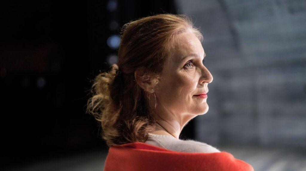 Koncertrejsens gæst, operasanger og rektor for operaakademiet, Anne Margrethe Dahl