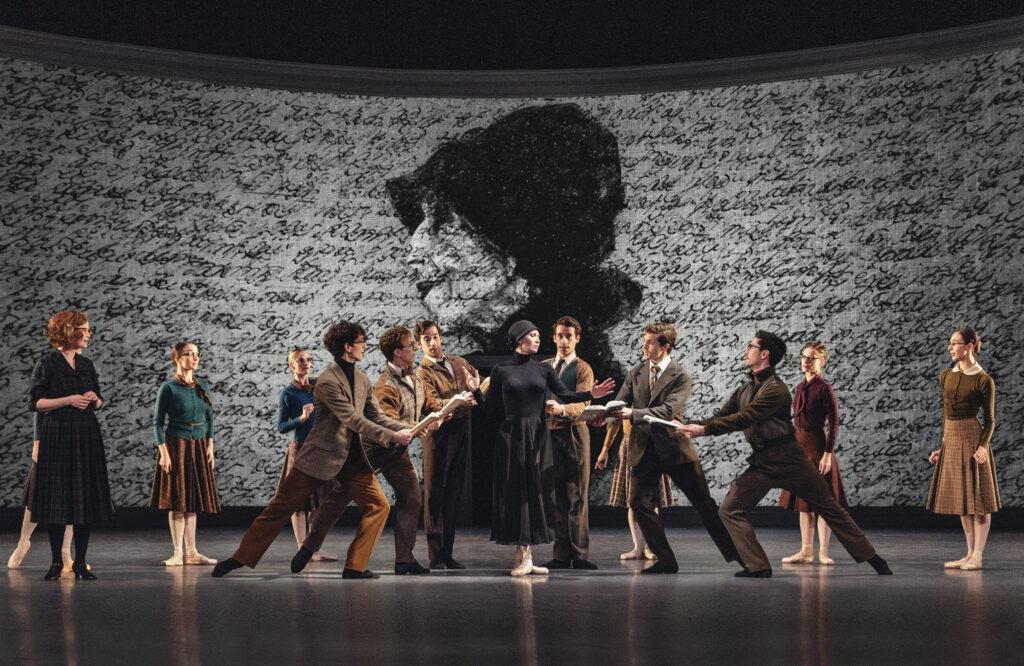 Med Koncertrejsen til Blixen balletforestilling på Det kongelige Teater