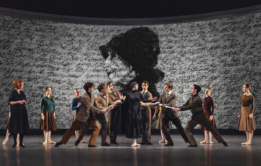 Koncertrejsen til Karen Blixen Ballet på Det kgk. Teater, Gl. scene