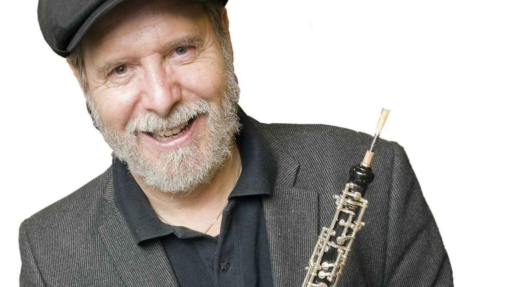 Koncertrejsens gæst, oboist, Henrik Goldschmidt
