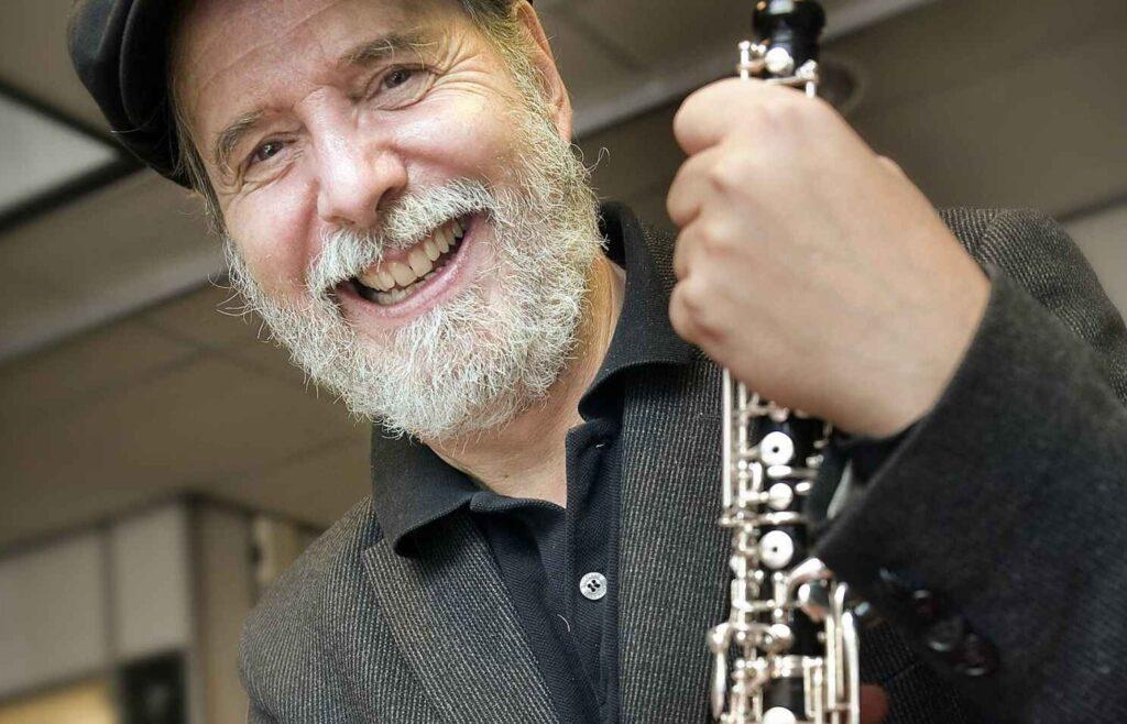 Koncertrejsens gæst, oboisten Henrik Goldschmidt