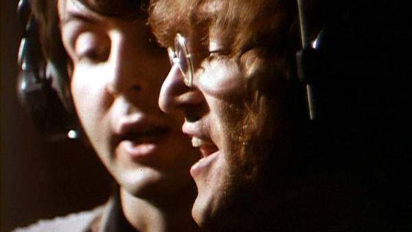 John Lenon og Pul McCartney